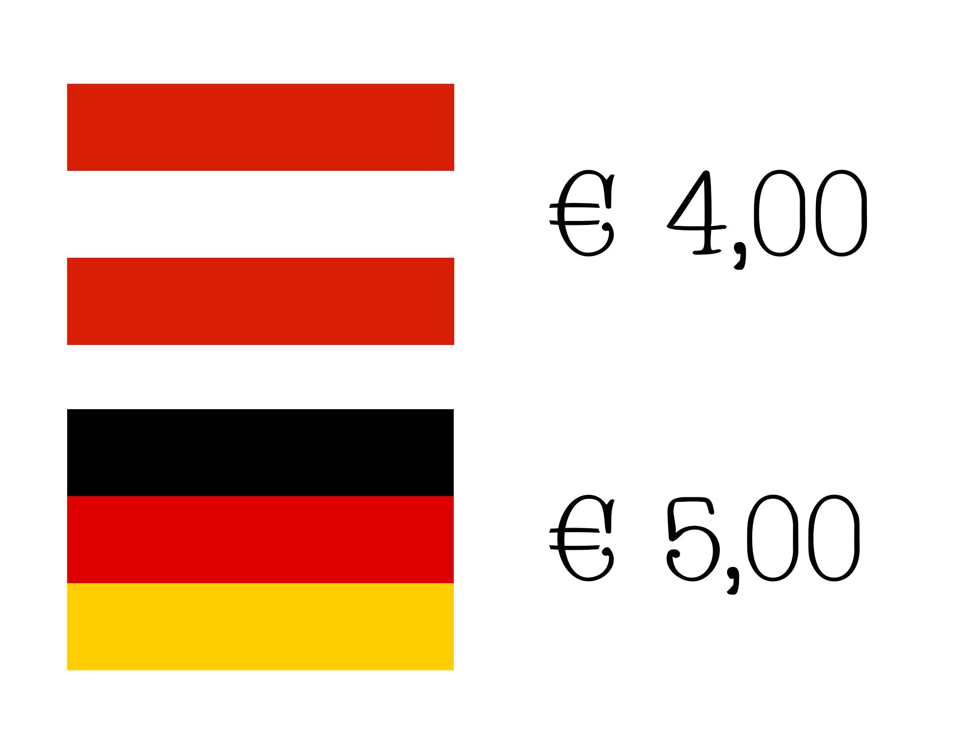 Versandpreise