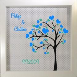 Personalisierter Rahmen, Hochzeitsbaum