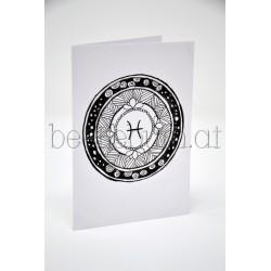 Karte Sternzeichen-Mandala