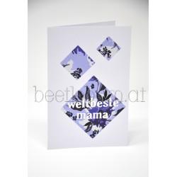 """Karte """"Weltbeste Mama"""""""