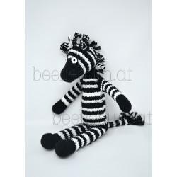 Häkeltier Zebra