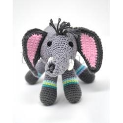Häkeltier Elefant