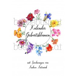 Kunst-Kalender Geburtsblumen
