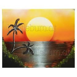 """Bild """"Sunset"""""""