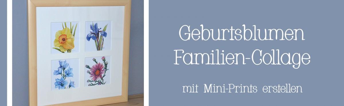 Geburtsblumen Mini-Prints